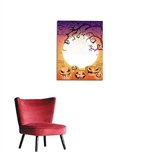 longbuyer Mural Decoration Halloween Background Mural 32