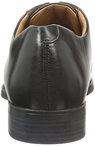Weaver Scarpa Da Uomo Derby Plain Black (9999)