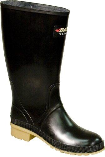 Baffin Rain Boots - Baffin Women's Prime Rain Boot,Black/Amber,8 M US