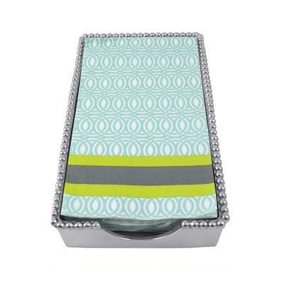 Lilly Beaded Guest Towel Holder by Mariposa