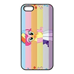 My Little Pony Pattern Design Solid Rubber Customized Cover Case for iPhone 4 4s 4s-linda608