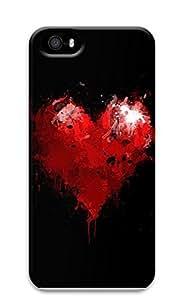iPhone 5 5S Case Broken Heart 3D Custom iPhone 5 5S Case Cover