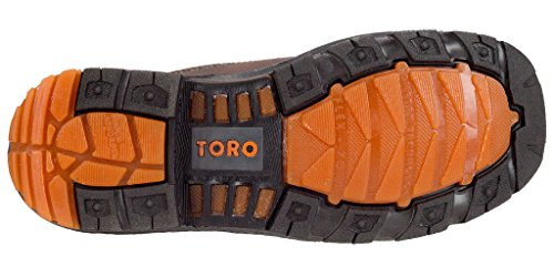 "Toe Men's Boot Steel Brown Toro 10"" Work TRC1 zSqwO"