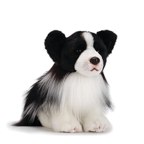 Nat and Jules Regal Small Border Collie Dog Children's Plush Stuffed Animal