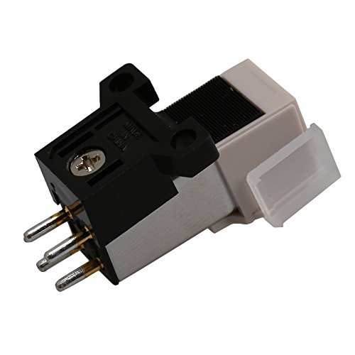 Mxfans White Color Turntable Replacement Needle Record Phono Cartridge Universa by Mxfans (Image #1)