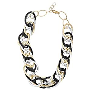 Arabella Luxuries Ladies Alloy Jewel Mesh Necklace and Pendant, 50 cm