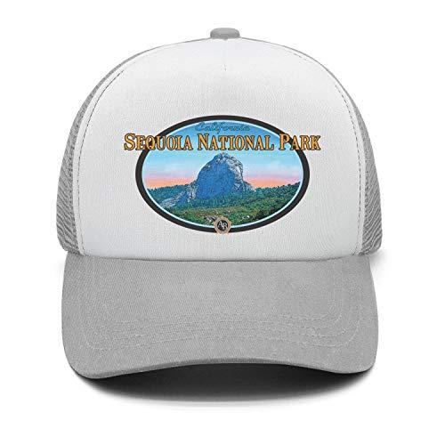 Sequoia National Park Unisex Cotton Beautiful Cap Adjustable Mesh Sports Hat