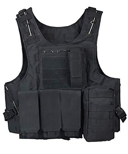 ThreeH Veste Tactique extérieure Costume d'armée de Campagne Paintball Gaming Gilet Équipement Protecteur pour la Chasse… 1