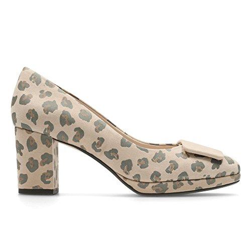 Clarks Kelda Gem - Zapatos de cordones de Piel para mujer marrón marrón
