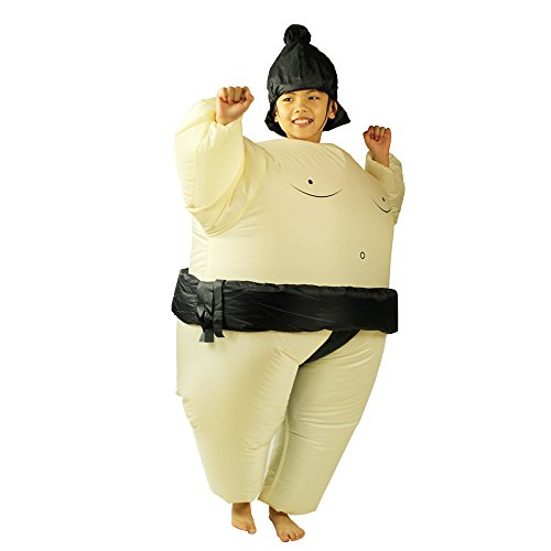 Inflatable Costume Fan Replacement (Inflatable Sumo Costume For Kids Child Wrestler Dress up Halloween Chiristmas)
