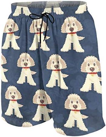 キッズ ビーチパンツ 犬柄 ラブラドゥードル サーフパンツ 海パン 水着 海水パンツ ショートパンツ サーフトランクス スポーツパンツ ジュニア 半ズボン ファッション 人気 おしゃれ 子供 青少年 ボーイズ 水陸両用