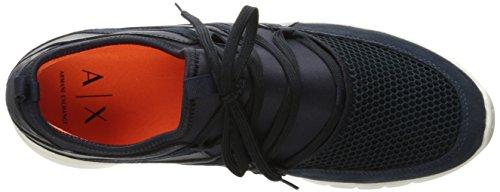 Armani Sneaker Armani Apache Exchange X Metro A Exchange Navy Armani Exchange Metroplitan Mens Sneaker Apache gxq8p5