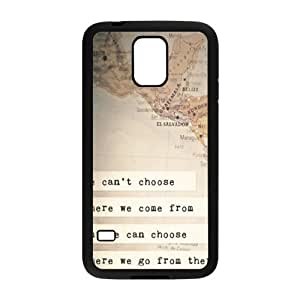 perks of being a wallflower quotes Phone Case for Samsung Galaxy S5 Case