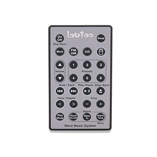 Loutoc Wave CD Player Control for Bose System Remote Soundtouch Wave Music Radio (Wave Radio Remote Control compare prices)