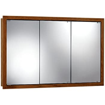 Exceptionnel Jensen 740655 Granville Oversize Medicine Cabinet, Honey Oak, 48 Inch By 30