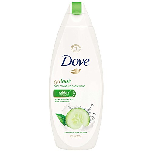 Price comparison product image Dove go fresh Body Wash, Cucumber and Green Tea, 22 oz