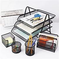 طقم منظم واكسسوارات للمكتب والمنزل مكون من 5 قطع