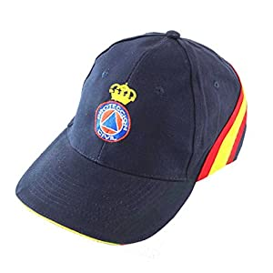 PC Gorra Bordada Proteccion Civil Bandera de España Regulable 24