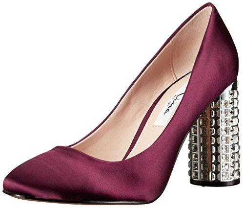 Nina Women's Idabell Dress Pump, Dark Wine, 8 M US