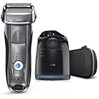 Braun Series 7 Men's Electric Foil Shaver with Wet & Dry Precision Trimmer w/Clean & Charge Station