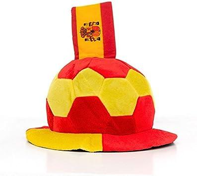 Eurowebb gorro en forma de balón de fútbol con la bandera de ...