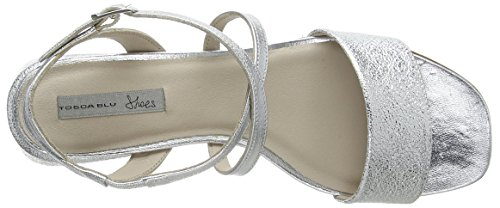 discount low cost Tosca Blu Women's Salsa Sling Back Sandals Silver (Argento C97) buy cheap really 2015 new for sale hot sale online j8cM9pn