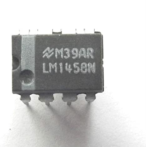 Lm1458N amplificador operacional Dual Gp± 18V 8 pin Pdip