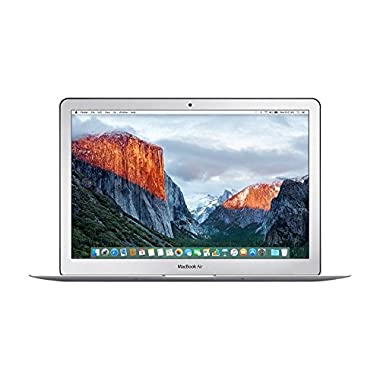 Apple MMGG2LL/A MacBook Air 13.3-Inch Laptop (Intel Core i5, 8GB, 256GB,Mac OS X), Silver