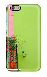 Andrew Cardin's Shop Durable Defender Case For Iphone 6 Tpu Cover(green Wall Window) 5239102K35749586