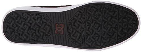 DC - Männer Nyjah Vulc Vulcanized Schuh, EUR: 42, Black/Grey/Red
