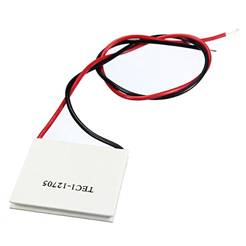 Utini TEC1-12705 Heat Sink Thermoelectric Cooler Cooling Peltier Plate Module 40 x 40mm