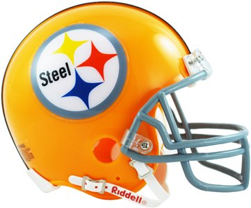 Helmet Throwback Steelers Pittsburgh (Pittsburgh Steelers NFL Throwback 1962 Mini Helmet)