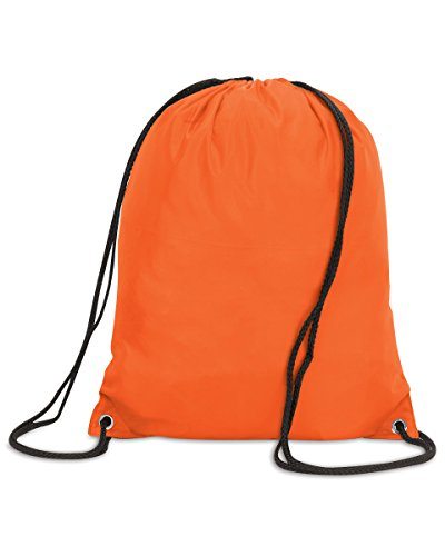 Shugon Stafford Nylon coulisse borsa backpack-o/S Hi Vis Orange