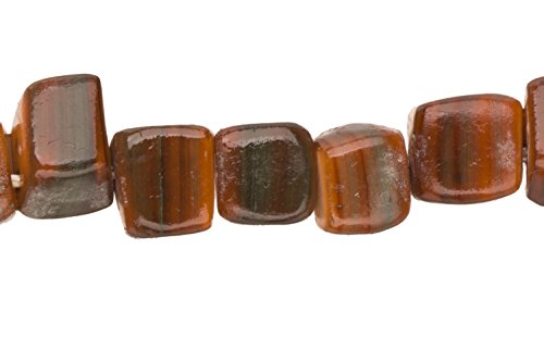 Bead Brown Lip Shell (Brown Lip Sea Shells Triangular Rectangle Shell Beads Size:8x7mm)