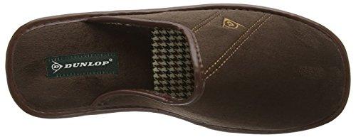 Dunlop Alphonse, Zapatillas de Estar por Casa para Hombre Marrón - marrón