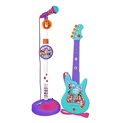 Enchantimals 4450 Claudio REIG – Set Guitarra y Micrófono, Multicolor