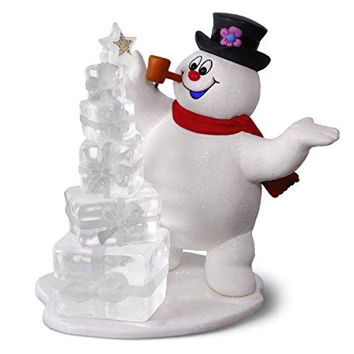 Hallmark Keepsake Christmas Ornament 2018 Year Dated, Frosty the Snowman A Jolly Happy Holiday]()