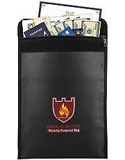 Moko Fireproof Money Document Bag Envelope Holder