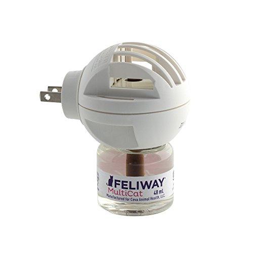 CEVA Animal Health FELIWAY MultiCat Starter Kit for Cats (Diffuser and 48 ml Vial) by CEVA Animal Health (Image #2)