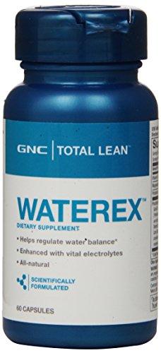 Supplément GNC total Waterex alimentation, 60 comte