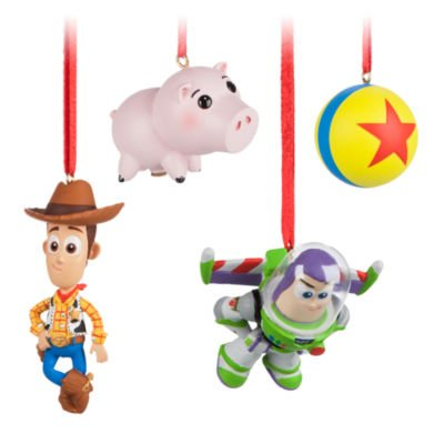 Disney's Toy Story Christmas Decorations, Set of 4: Amazon.co.uk ...