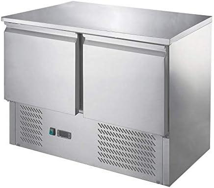 Saladette/Kühltisch ECO - 0,9 x 0,7 m - mit 2 Türen