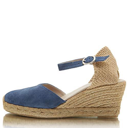 Jeans Sandale Damen Macarena Serraje Ana57s Pumps pYfAqA