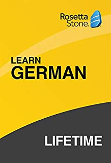 [OLD ASIN] Rosetta Stone: Learn German with Lifetime Access on iOS, Android, PC, and Mac [Activation Code by Mail] (B07HGBM69J) | Amazon price tracker / tracking, Amazon price history charts, Amazon price watches, Amazon price drop alerts