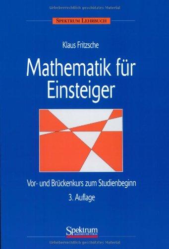 Mathematik Fã R Einsteiger