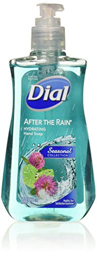 Dial Antibacterial Seasonal Collection Liquid Hand Soap, After The Rain, 7.5 Fluid Ounces (Pack of 12)