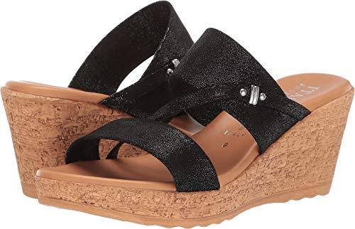 (ITALIAN Shoemakers Women's, Adriane Sandals Black 9 M)