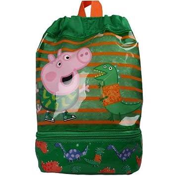 Gym Shoe PE Peppa Pig Trainer Swim School Bag Childrens Kids
