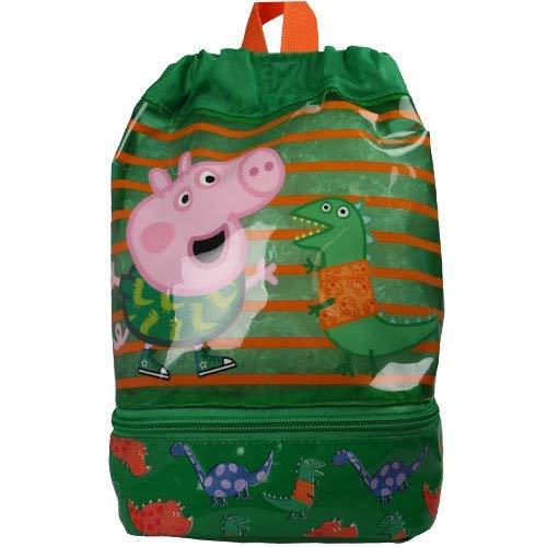 (Peppa Pig Swim Bag Gym Tote, 25 cm,57 L, Green)