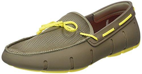 Swims Yellow Loafer Lace Khaki Braided rI7Fqxr